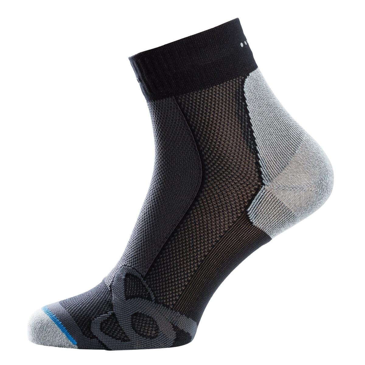 Kniestrümpfe Odlo ELEMENT Skisocken Outdoor Socken schwarz
