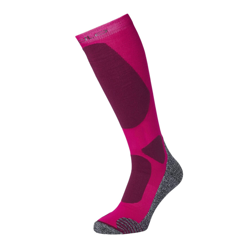 Odlo ELEMENT Skisocken, Kniestrümpfe, Outdoor Socken cerise