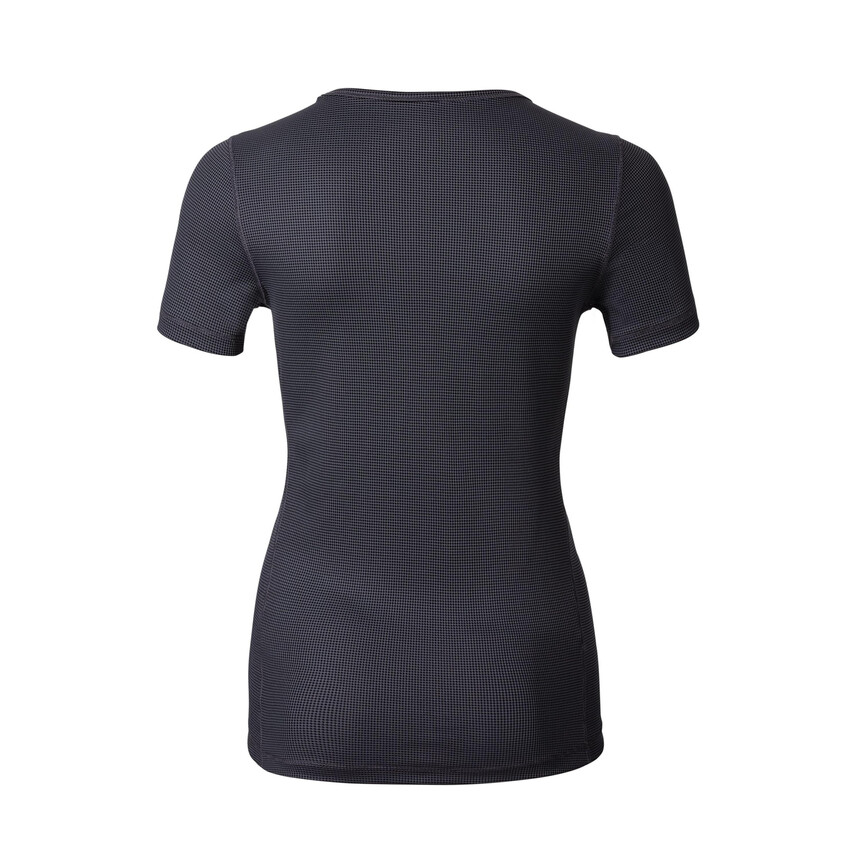 Odlo Shirt CUBIC Light Damen Funktionsshirt Sportshirt ebony grey - black