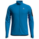 ODLO Steam Midlayer Full Zip für Herren, Fleecejacke blue...