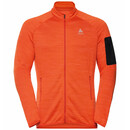 ODLO Steam Midlayer Full Zip für Herren, Fleecejacke...