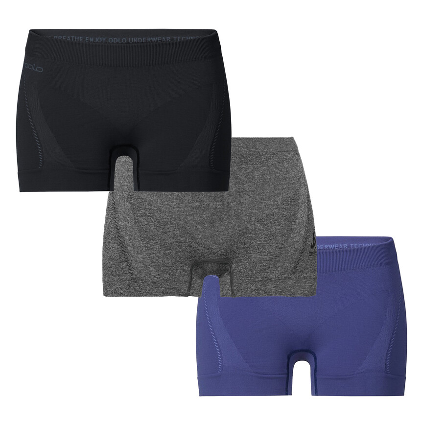 ODLO PERFORMANCE LIGHT Boxershorts, Damen seamless Funktionsunterwäsche, Panty