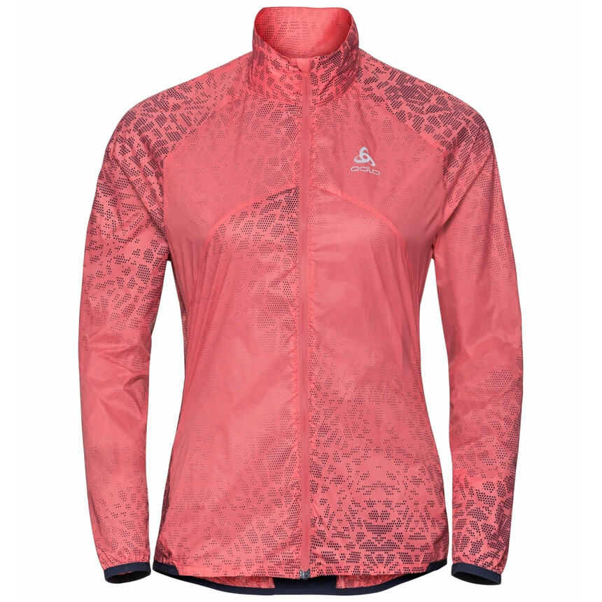 ODLO OMNIUS LIGHT Damen Windstopper, winddichte Jacke, Laufjacke, Outdoor dubarry