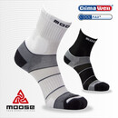 MOOSE MOTION COOLMAX Socken, Laufsocken, Sportsocken, mit...