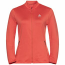 ODLO ALAGNA Damen Midlayer, Jacke, Full Zip burnt sienna